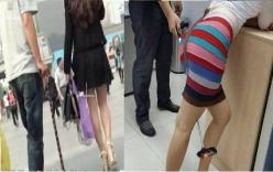 Nam sinh viên chụp trộm phụ nữ váy ngắn bị dân mạng xứ Trung lật tẩy
