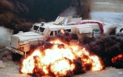 """Xe bọc thép """"hổ báo"""" Cougar MRAP của quân đội Mỹ"""