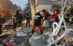 Đài Loan rung chuyển vì động đất 7,2 độ Richter