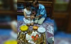 Cụ ông 70 tuổi cưới cô dâu 17 tuổi với sính lễ ngập vàng gây xôn xao