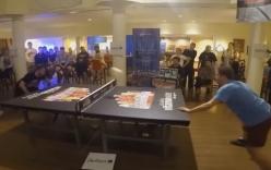 Video: Màn trình diễn bóng bàn bằng đầu cực đỉnh