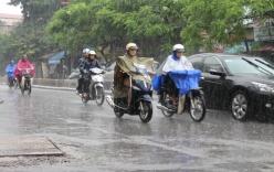 Hà Nội 3 ngày tới có mưa rào, dông