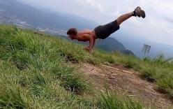 Hình ảnh cuối cùng của du khách Anh tử nạn khi leo núi Fansipan, Sa Pa