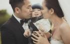 Facebook sao Việt: Diễm Hương đáp trả tin đồn rạn nứt với chồng