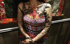 Cô gái xăm hình nhạy cảm bị gia đình từ mặt, dân mạng