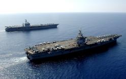 Lo ngại Nga, Mỹ điều 2 tàu sân bay tới Địa Trung Hải