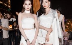 Ngọc Trinh đọ dáng nóng bỏng bên cạnh Hoa hậu Hàn Quốc