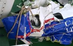 Cận cảnh trục vớt các mảnh vỡ máy bay Casa 212 bị mất tích
