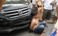 Đối tượng trộm xe ô tô chưa đăng ký bị dân vây đánh hội đồng