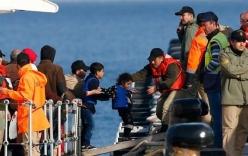 Cứu được 2.000 người di cư giữa Địa Trung Hải chỉ trong một ngày