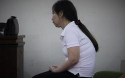 Người đàn bà sát hại chồng trong cơn ghen bật khóc nức nở tại tòa