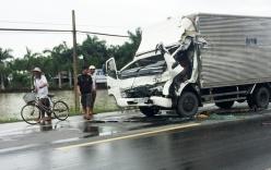 Tai nạn giao thông, thi thể tài xế mắc kẹt trong cabin