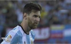 Video: Messi sút pen vọt xà trong loạt đá luân lưu với Chile