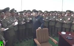 Video: Kim Jong-un đích thân chỉ huy tập trận hải - không quân