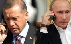 Putin lần đầu điện đàm với Erdogan sau vụ Su-24