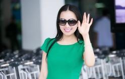 Em gái tỉ phú của Cẩm Ly đi chuyên cơ riêng về Việt Nam