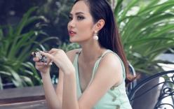 Hoa hậu Đông Nam Á Diệu Linh gợi cảm trong trang phục tự thiêt kế