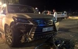 Siêu xe Lexus 570 gây tai nạn liên hoàn, 5 người trọng thương