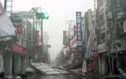 Siêu bão đổ bộ, Đài Loan tan hoang, ít nhất 180 người thương vong