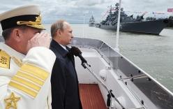 Động thái bất ngờ: Putin sa thải toàn bộ tướng lĩnh Hạm đội Baltic