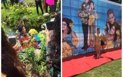 Không gian đám cưới tại tư gia của Thanh Bạch và