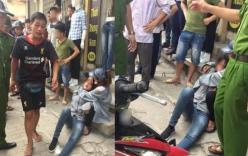 Thanh niên cầm gạch đánh bạn gái nhập viện trên phố Hà Nội