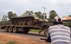 Campuchia ồ ạt đưa xe tăng về thủ đô sau đe dọa đảo chính