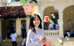 Hoa khôi Áo dài nữ sinh 2015 đạt 25,75 điểm thi THPT quốc gia