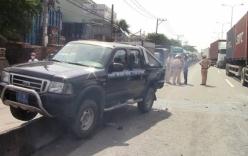Xe thanh tra giao thông gặp tai nạn, quốc lộ 1A kẹt cứng