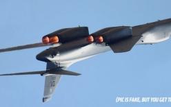Oanh tạc cơ B-1B biểu diễn