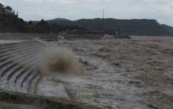 Bão số 1: Biển động mạnh, 600 du khách mắc kẹt trên đảo Cô Tô