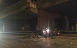 Tranh cãi vụ ôtô lao từ cầu cạn xuống đất, tài xế tử vong: Luật sư nói gì?