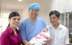 Thừa Thiên Huế: Bé gái mang thai hộ đầu tiên chào đời
