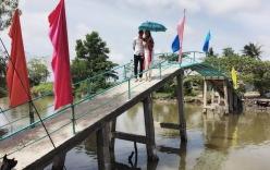 Thủy Tiên lên tiếng khi bị chê xây cầu xấu xí