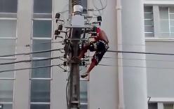 Bị điện giật chết khi trèo cột điện nghe tổng thống phát biểu