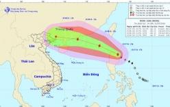 Bão Nida di chuyển nhanh, dự báo ngày 1/8 vào đến Biển Đông