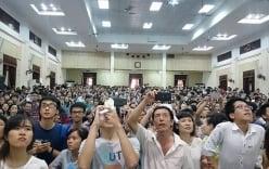 Hôm nay, hơn 10.700 thí sinh thi vào ĐH Quốc gia Hà Nội đợt 2