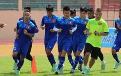 U19 Việt Nam miệt mài rèn thể lực tại phố biển Nha Trang