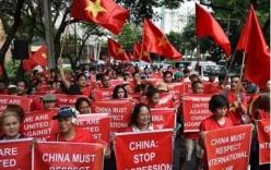 Người Việt ở Philippines tuần hành yêu cầu TQ tuân thủ phán quyết Biển Đông