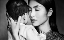 Hạnh phúc giản đơn của Tăng Thanh Hà bên con trai