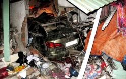 Xe Lexus gây tai nạn trong đêm, 1 người chết, 5 người bị thương