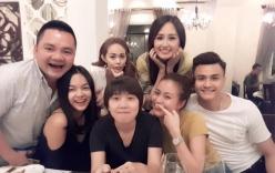 Hoàng Thùy Linh, Vĩnh Thụy thân thiết không rời trong tiệc sinh nhật