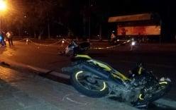 Xe máy chở ba gây tai nạn, 4 người thương vong