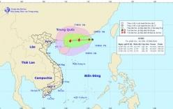 Áp thấp nhiệt đới giật cấp 10 trên Biển Đông