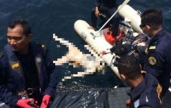 Malaysia tìm thấy thi thể ngư dân Việt mắc kẹt ở độ sâu 31m