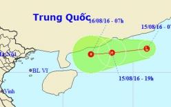 Vùng áp thấp trên Biển Đông có thể mạnh lên thành bão