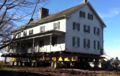 Cách người Mỹ di chuyển căn nhà nặng hàng nghìn tấn