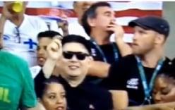 Video: Người giống hệt Kim Jong-un xuất hiện trên khán đài Olympic