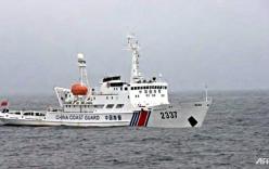 4 tàu hải cảnh Trung Quốc xông vào vùng biển tranh chấp với Nhật