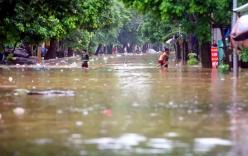 Hình ảnh Yên Bái chìm trong biển nước sau bão số 3